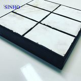 High impact resistant rubber ceramic tile / plate / liner used in mining