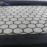 Rubber backed ceramic tile, ceramic rubber panel wear plate