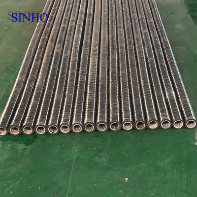 Ceramic rubber hose with ceramic wear lining for high wear resistance