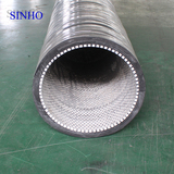 Mining ceramic lined flex rubber hose