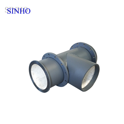 Wear Resistant Ceramic Tube 99% Al2O3 Alumina Ceramic Lined Pipe