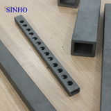 High temperature furnace Refractory silicon carbide ceramic pipes tubes